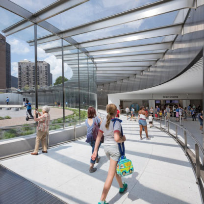Gateway Arch's Visitor Center Undergoes Renovation